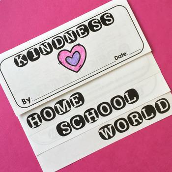 Kindness Flip Book FREEBIE