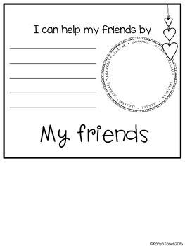 Kindness Flip Book {Freebie}