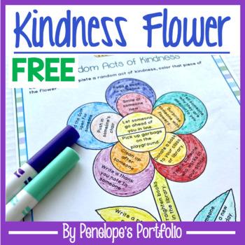 Kindness Flower FREE