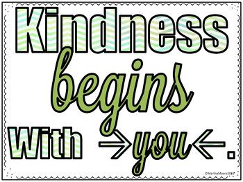 Kindness Freebie: National Day of Kindness