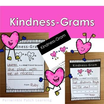 Kindness Gram Sending Positive Messages To Classmates Valentine's Day!