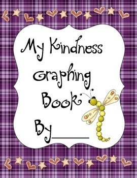 Kindness Graphing Book