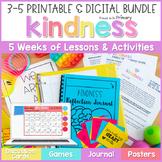 Kindness: Gratitude, Generosity, & Bucket Filling | SEL PRINTABLE & DIGITAL 3-5