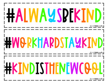 Kindness Hashtags