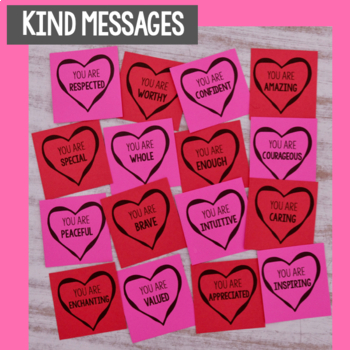 Kindness Hearts- Kindness Activity for Valentine's Day