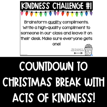 Kindness Holiday Activity: Kindness Counts (DIGITAL)