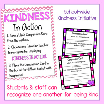 Kindness In Action Bulletin Board