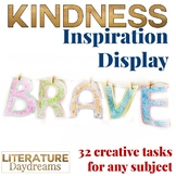 Kindness Growth Mindset Inspiration Creative Display