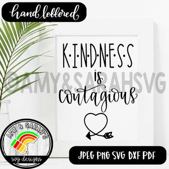 Kindness Is Contagious SVG Design