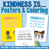 Kindness Is... Character Education Posters for Classroom D
