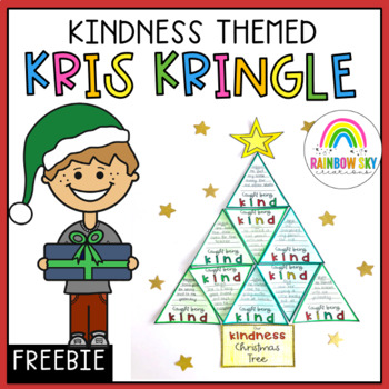 Kindness Kris Kringle Christmas Tree Activity - Free Download