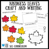Kindness Leaves Craft and Creative Writing for SEL Curriculum