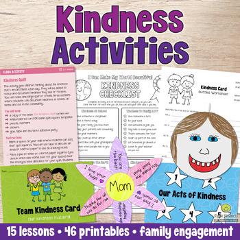 Kindness & Bucket Filling SEL & Anti-bullying Bundle - US Letter