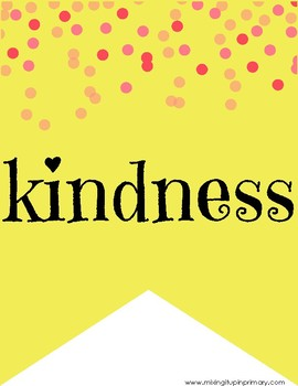 Kindness Lesson Plan and Bulletin Board