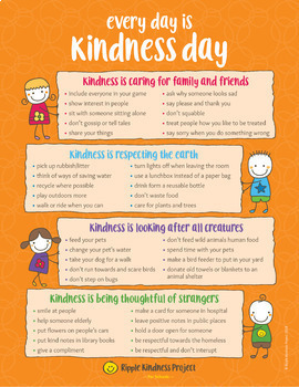 Kindness Lesson Plans & Printables - US Letter