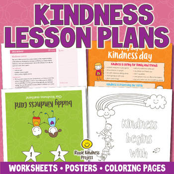 Kindness Lesson Plans & Printables to Reduce Bullying - US Letter