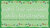 Kindness Lightbulb Template