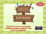 Kindness Lights Template - FREEBIE