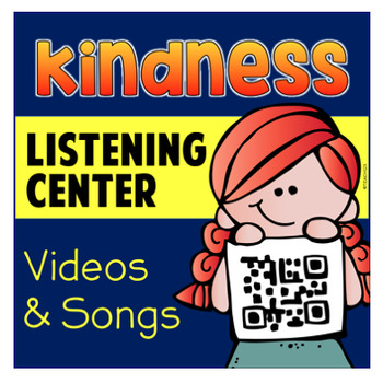 #KINDNESSNATION Random Acts of Kindess Listening Center QR Code