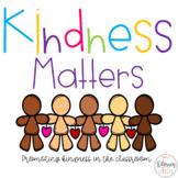 Kindness Matters {Freebie}