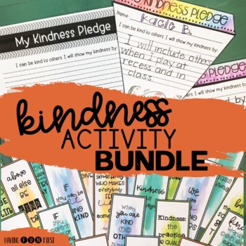 Kindness Activities and Posters