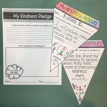 Kindness Activities Book Companions and Posters