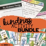 Kindness Activities Book Companions and Posters Bundle