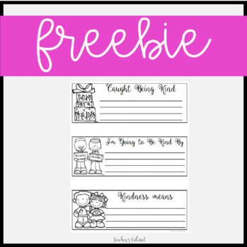 Kindness Matters Coupons {FREEBIE}