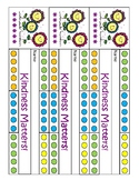 Kindness Matters Incentive Chart / Punch Card