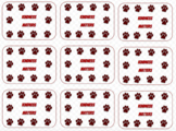 Kindness Matters Punchcards (Maroon Paws)