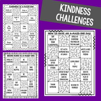 Kindness Mazes - Kindness Activities