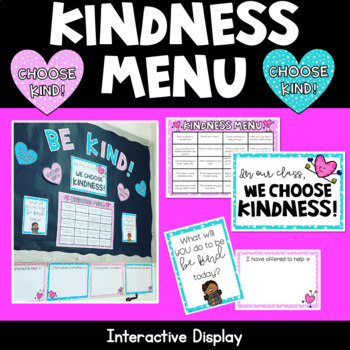 Interactive Kindness Display