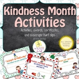 Kindness Month Activities, Awards, and Certificates #kindnessnation
