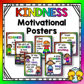 Kindness Motivational Posters