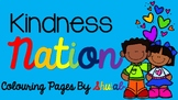 Kindness Nation Colouring Pages