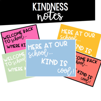 Kindness Notes