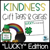 """Lucky"" Editable Kindness Notes & Gift Tags {St. Patrick's Day}"