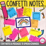Kindness Notes   Student Cards   Confetti Notes   Positive