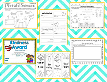 Kindness Pack: Posters, Cards, Activities, & Much More!