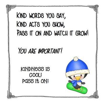 Caring/Kindness Challenge Kit