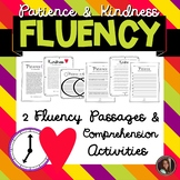Kindness & Patience Fluency Passages and Comprehension Activities {Grade 6}
