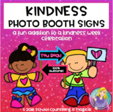 Kindness Photo Booth Signs Freebie