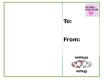 Kindness Post Card