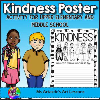 Kindness Poster Activity