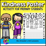 Kindness Poster Activity for Primary Students