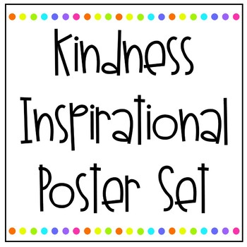 Kindness Poster Pack