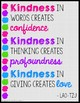 KINDNESS POSTERS - Brights Theme