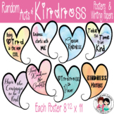 Kindness Posters and Writing Papers