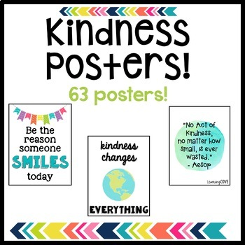 Kindness Posters - 63 Posters!