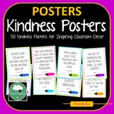 Kindness Posters - 50 Great Inspirational Quotes on Kindne